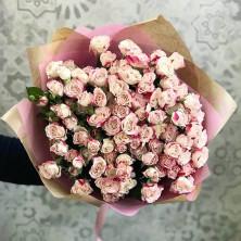 21 роза куст с окантовной