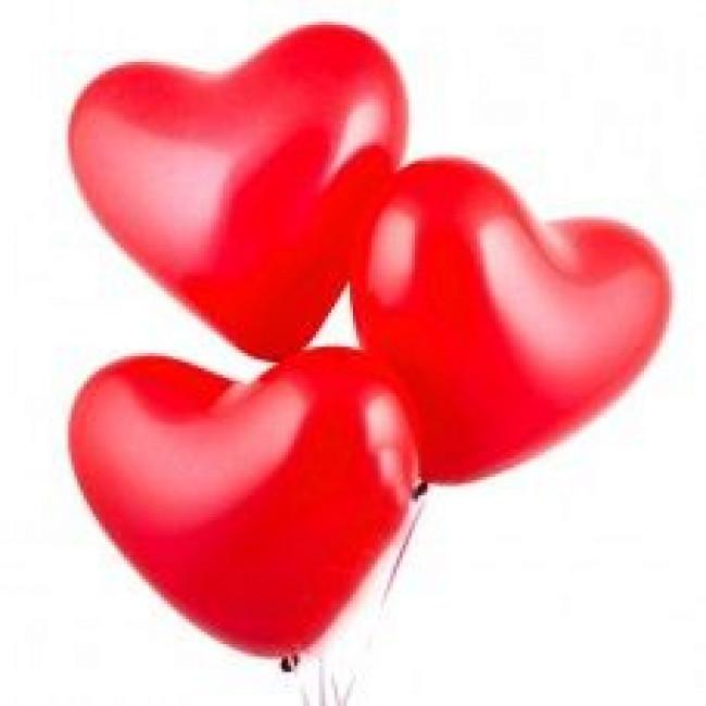 "Шарик ""Красное сердце"""